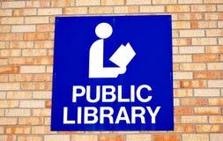 Public library symbol. Royalty Free Stock Photo