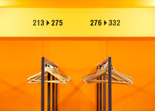Public locker room Royalty Free Stock Image
