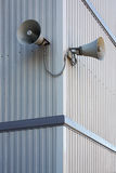 Public loudspeaker Royalty Free Stock Images