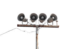 Public loudspeakers Royalty Free Stock Photos