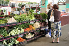At public market Royalty Free Stock Images