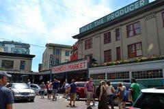 Public Market. Center in Seattle Stock Photo