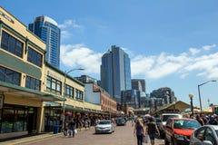 The Public Market Center Seattle Stock Images