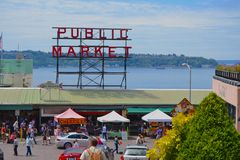 Public Market Center Royalty Free Stock Images