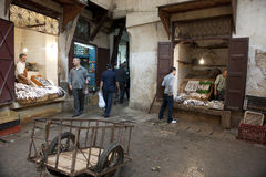 Public market in Fes Stock Photos