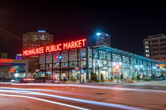 Public Market in the Historic Third Ward section of Milwaukee Royalty Free Stock Images