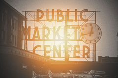 Public Market royalty free stock images