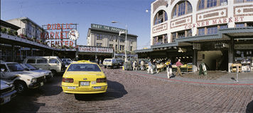 Public Market Place Royalty Free Stock Photography