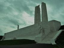 Public Memorial. A memorial to remember those on the Somme that sacrificed so much during the War royalty free stock images