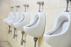 Public men's toilet Stock Photography