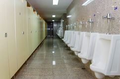 Public men toilet room Stock Photo