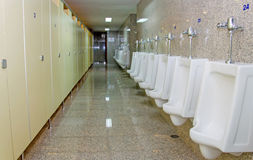 Public men toilet room Stock Image