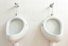Public mens toilet Stock Photography