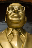 B R Ambedkar monument, Hyderabad. Public monument statue to Bhimrao Ramji Ambedkar (1891 - 1956)who campaigned against the poor treatment of 'untouchables' in Royalty Free Stock Photography