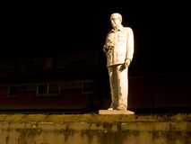 Public monument, statue to Italian former Prime Minister. Stock Photography