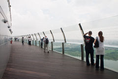 Public Observation Deck Stock Photo