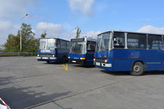 Public Open Day on 40 -year-old bus garage Cinkota IX Royalty Free Stock Photos