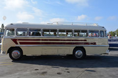 Public Open Day on 40 -year-old bus garage Cinkota 38 Royalty Free Stock Image