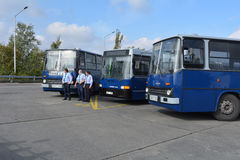 Public Open Day on 40 -year-old bus garage Cinkota XXIX Royalty Free Stock Photography