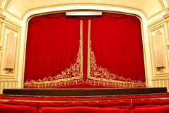 Public Opera House - Main Stage and Seating Stock Photos