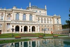 Public opera theater in Odessa Ukraine Stock Images
