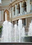 Public opera theater in Odessa Ukraine Stock Photography