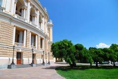 Public opera theater in Odessa Ukraine Stock Photo