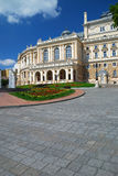Public opera theater in Odessa Ukraine Stock Photos