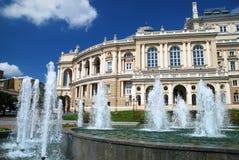 Public opera theater in Odessa Ukraine Stock Image