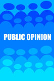 Public opinion Royalty Free Stock Images