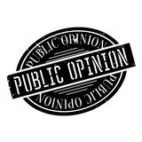 Public Opinion rubber stamp Royalty Free Stock Photos
