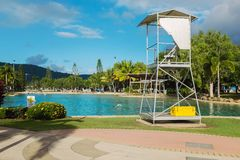 public outdoor swimming pool, Queensland Stock Photography