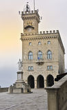 Public Palace. In Liberty Square in the San Marino Republic Royalty Free Stock Photography