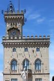Public palace San Marino Royalty Free Stock Photo