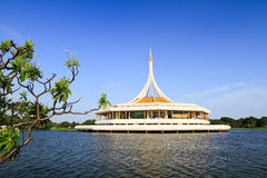 Public park. Building in suan luang rama 9 park in bangkok, Thailand Royalty Free Stock Image