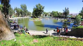 Public Park In Arequipa Peru