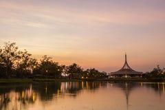 Public park in Bangkok Royalty Free Stock Photography