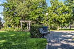 Public park Stock Images