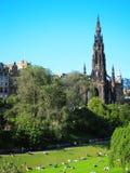 Public park in edinburgh,scotland Royalty Free Stock Image
