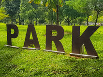 Public park Royalty Free Stock Images
