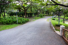Public park or garden for background usage Royalty Free Stock Image