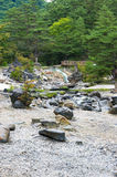 Public park in Kusatsu, Japan Royalty Free Stock Photography