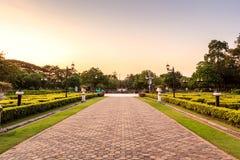 Public park Stock Image