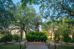 Public Park in oldtown Savannah, Georgia. In USA Stock Photography