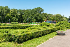 Public Park Scene On Summer Day Royalty Free Stock Photo
