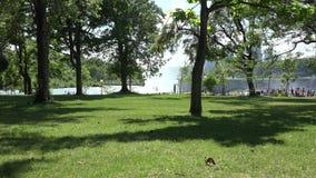 Public Park Stock Photo