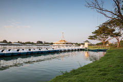 Public park, Suanluang Rama 9 Royalty Free Stock Image