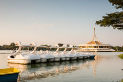 Public park, Suanluang Rama 9 Royalty Free Stock Photography
