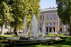 Public park, Zagreb Royalty Free Stock Photos