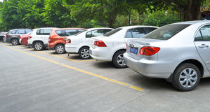 Public parking royalty free stock images
